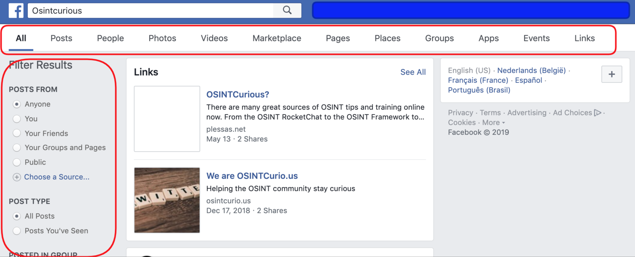 The new Facebook Graph Search – part 1 – We are OSINTCurio us